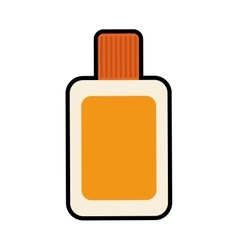 Sunscreen icon Protection design graphic vector