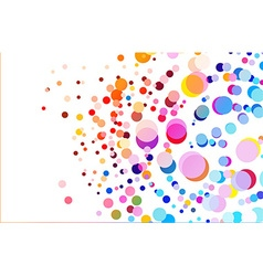 colorful background vector image