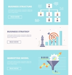 Elements of systematic business - structure vector image vector image