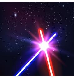 Neon light vector image