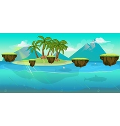 Background for games apps or mobile development vector image