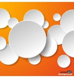 Abstract paper speech bubble vector
