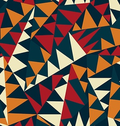 African triangle seamless pattern vector