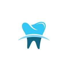 dental logo template icon design vector image