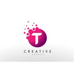 Letter t logo t letter design vector