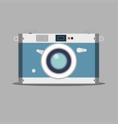 old film camera vintage photo vector image