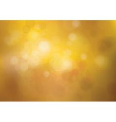 bokeh autumn vector image vector image
