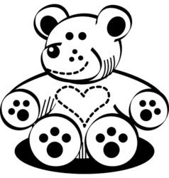 Cuddly Teddy Bear vector image vector image