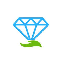 Care diamond logo icon design vector