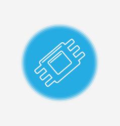 Chip icon sign symbol vector