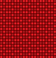 circle polka dots vector image