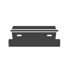 coffin i vector image