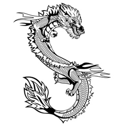 Dagon china vector