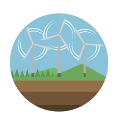 Energy source icon vector