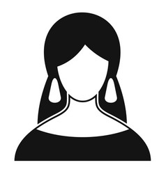 Fortune teller icon simple style vector