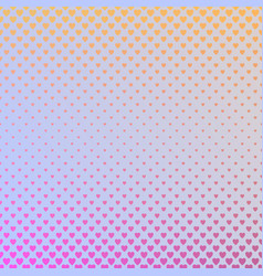 gradient abstract heart pattern background - love vector image