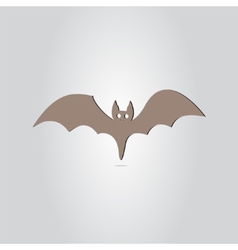 Icon Bat Happy Halloween Holiday vector image