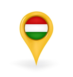 Location Hungary vector