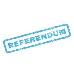 Referendum Rubber Stamp vector