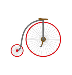 retro bicycle vector image