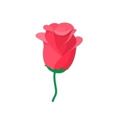 Rose icon cartoon style vector image vector image