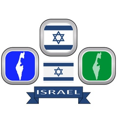 symbol of ISRAEL vector image vector image