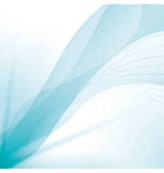 wave wallpaper shiny blue background icon vector image vector image