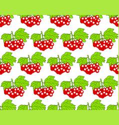 Arrowwood fruits pattern vector
