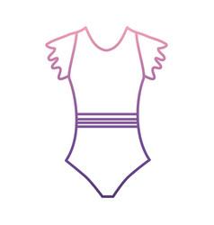 Ballet dress icon vector