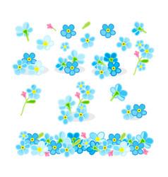 Cartoon plants clip art vector