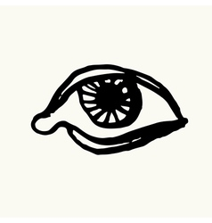 Eye Sketch Hand-drawn vector