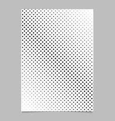 Geometric halftone dot pattern background poster vector