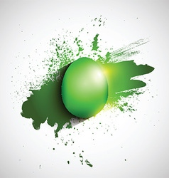 grunge easter background 2702 vector image