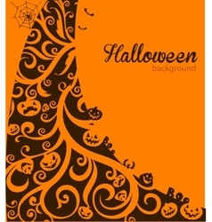 Halloween decorative background vector