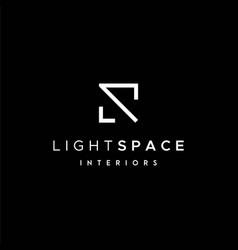 Interiors logo vector