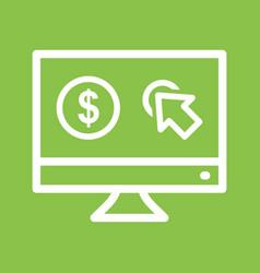 Pay per click vector