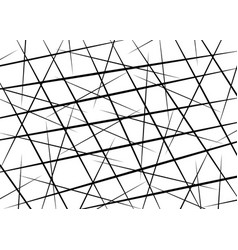 Random chaotic lines scattered lines texture vector
