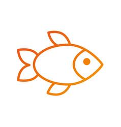Restauran menu seafood fish fresh gourmet vector