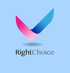 Right choice vector