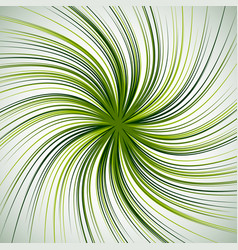 Spiral background with thin radial lines vector