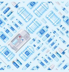 water bottle water drink liquid aqua vector image