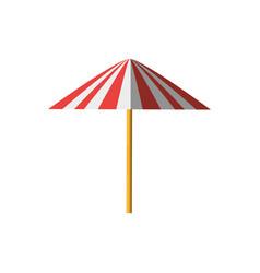Umbrella equipment picnic shadow vector