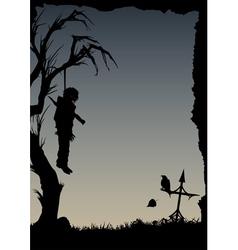 Vampire resurrection vector image