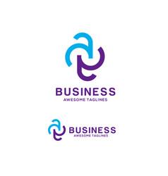 Ae letter logo vector