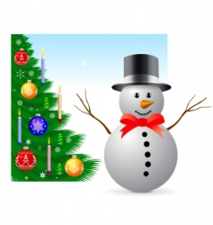 christmas and new year illustration vector image