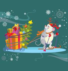 Christmass image 4 vector