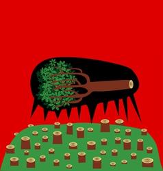 Dead tree vector