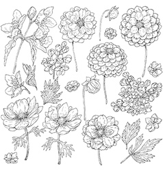 Doodles Flowers Vector Images (over 68,000)