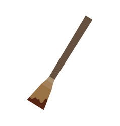 Spatula for massage vector