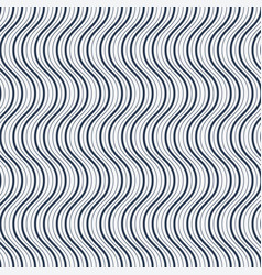 seamless wave pattern vector image vector image